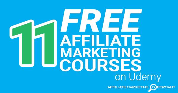 11 Free Affiliate Marketing Courses on Udemy – Affiliate Marketing