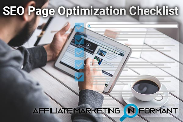 SEO Page Optimization Checklist