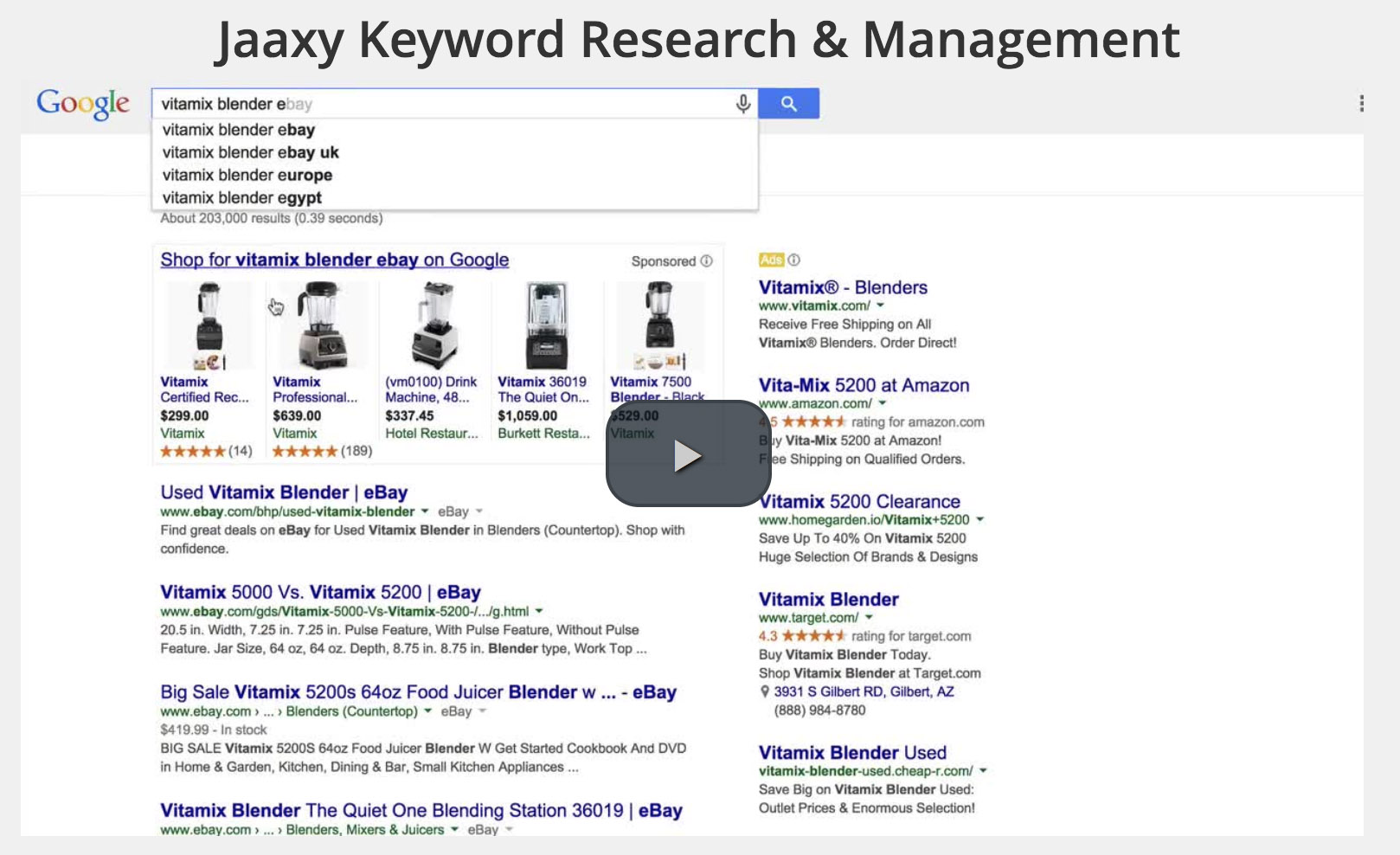 Jaaxy Keyword Research Training Video