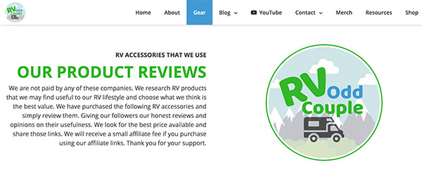 ways to promote affiliate products on your website with product reviews