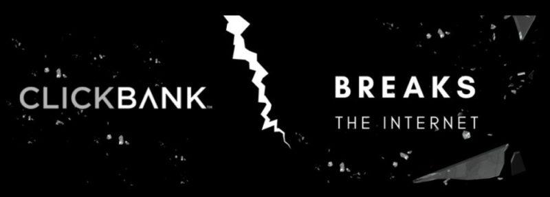 ClickBank Breaks The Internet Logo