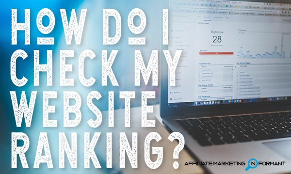 How Do I Check My Website Ranking