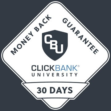 ClickBank University 30-Day Money Back Guarantee