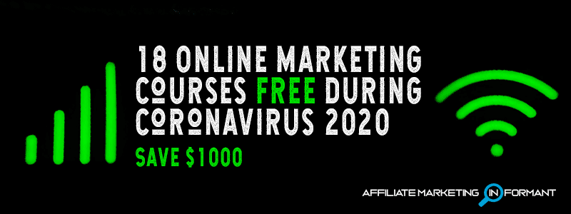 18 Online Marketing Courses Free During Coronavirus