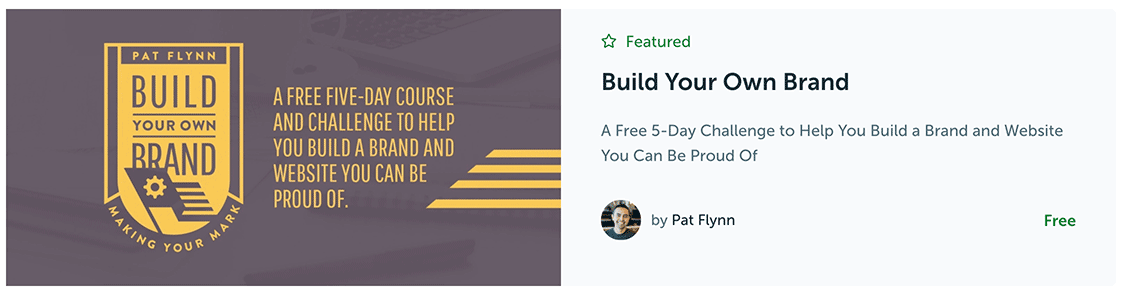 build your brand online marketing courses free