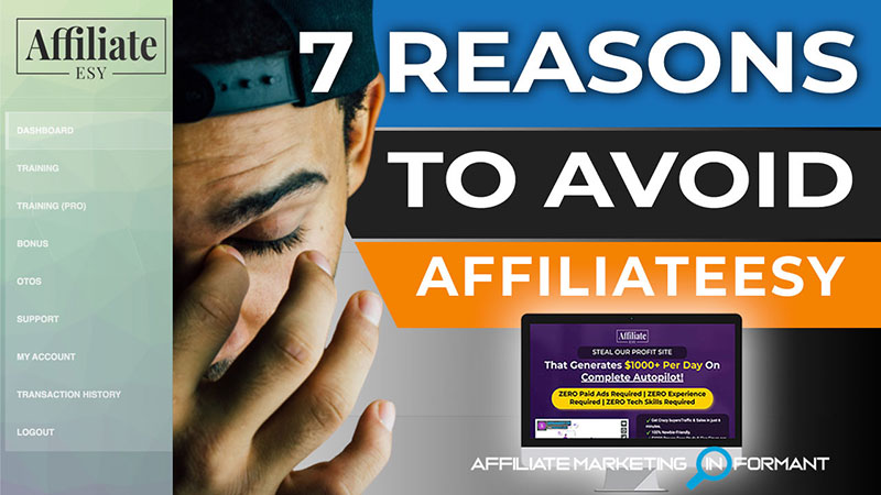 AffiliateESY Review - 7 Reasons to Avoid