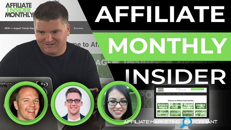 Affiliate Insider Monthly Review