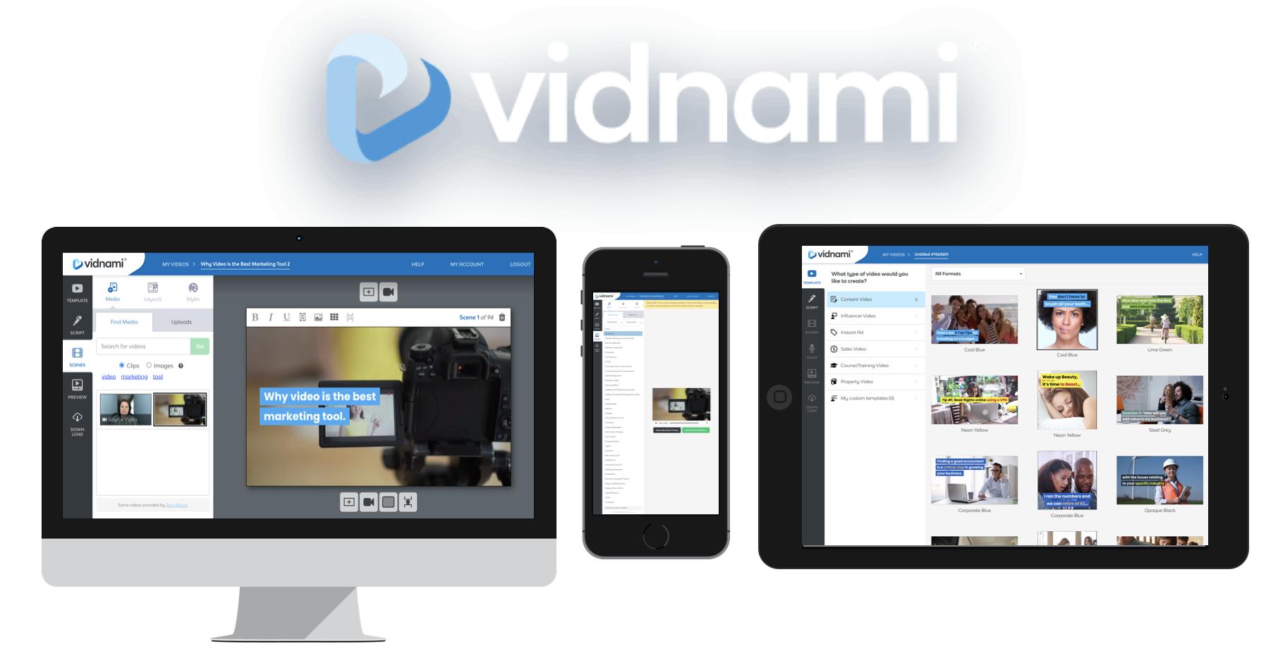 Vidnami video maker