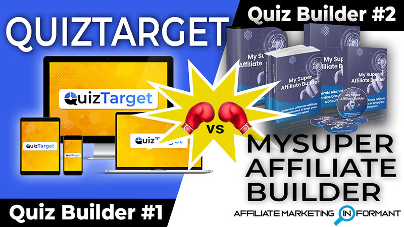 QuizTarget vs My Super Affiliate Builder Review