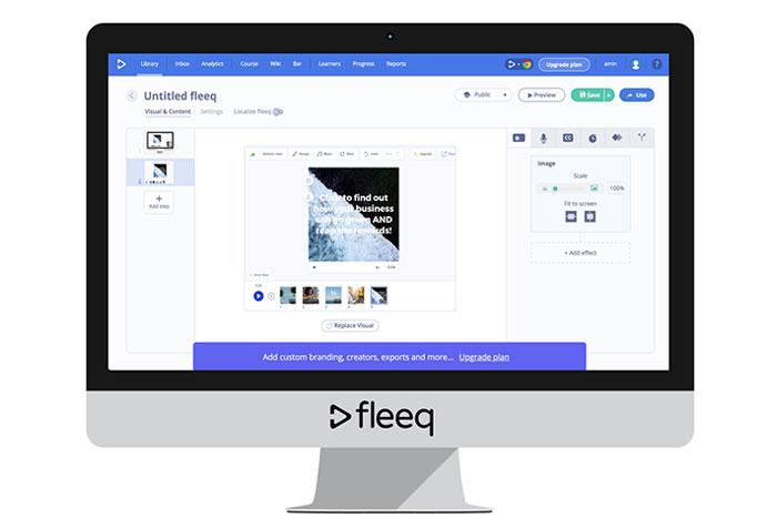 Fleeq video maker Vidnami alternatives