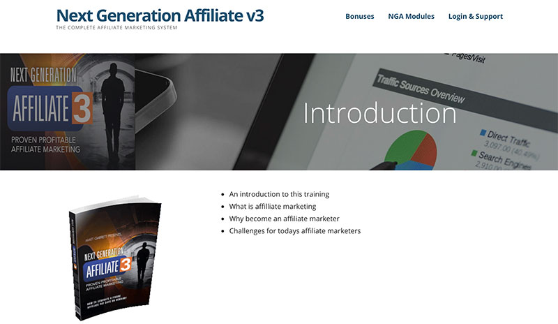Next Generation Affiliate Review Introduction