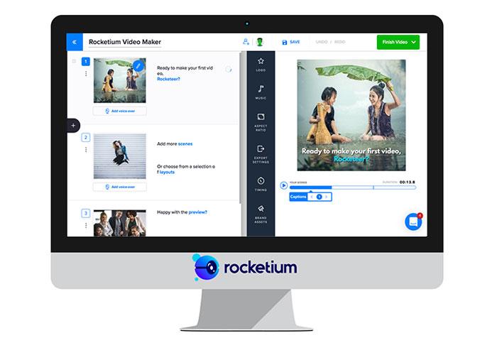 Rocketium video maker Vidnami alternatives