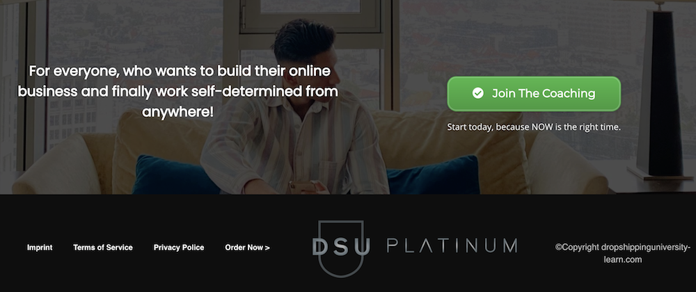 Dropshipping University Platinum top Digistore24 to promote #4